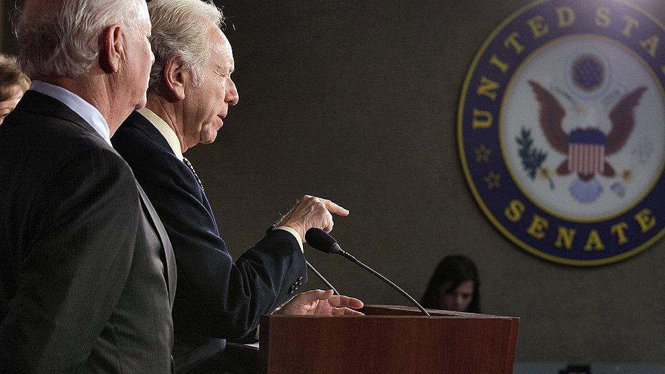 """В то, что """"закон Магнитского"""" хотя бы дойдет до голосования в Сенате (на фото), не верили даже сами сенаторы"""