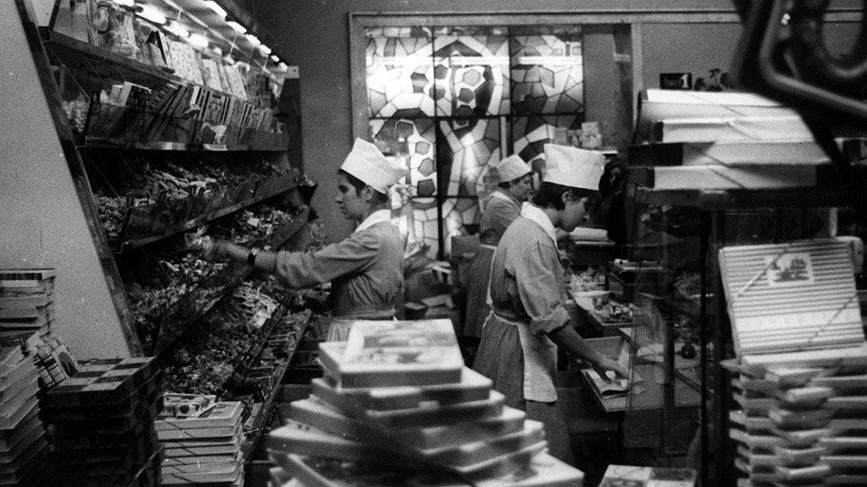 Советские цены на кондитерские изделия и шоколад без особых усилий догнали и перегнали американские