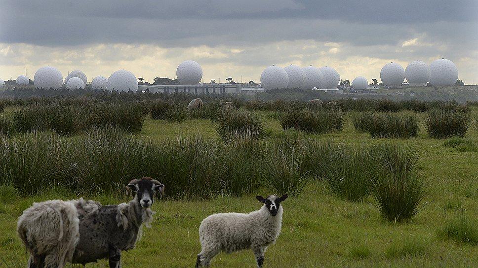 Станция Менвит-Хилл стала настоящим логовом электронных шпионов в овечьей шкуре