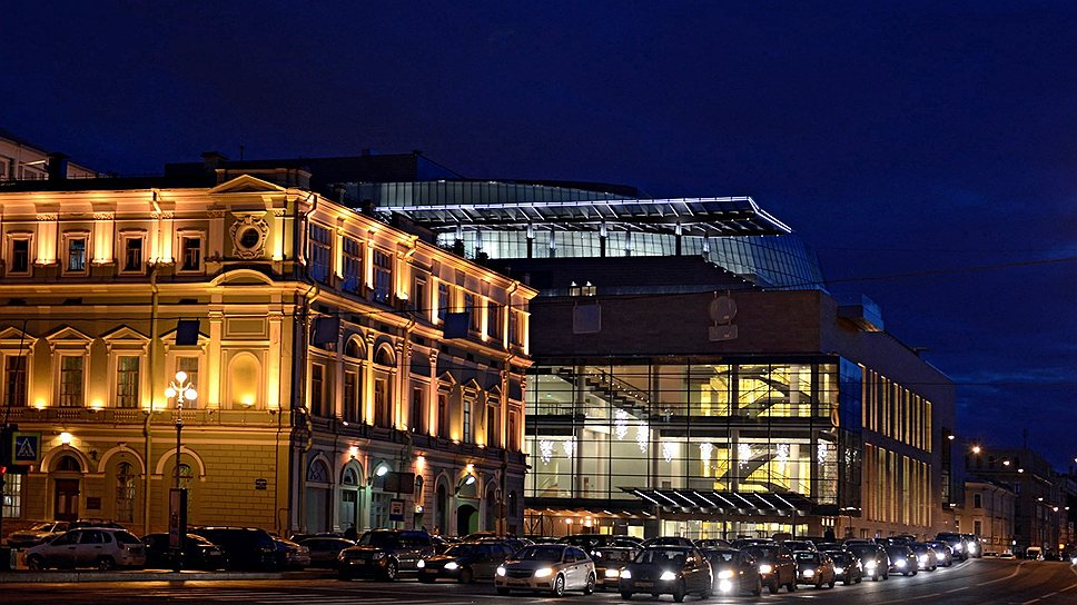 фотографии нового мариинского театра декором