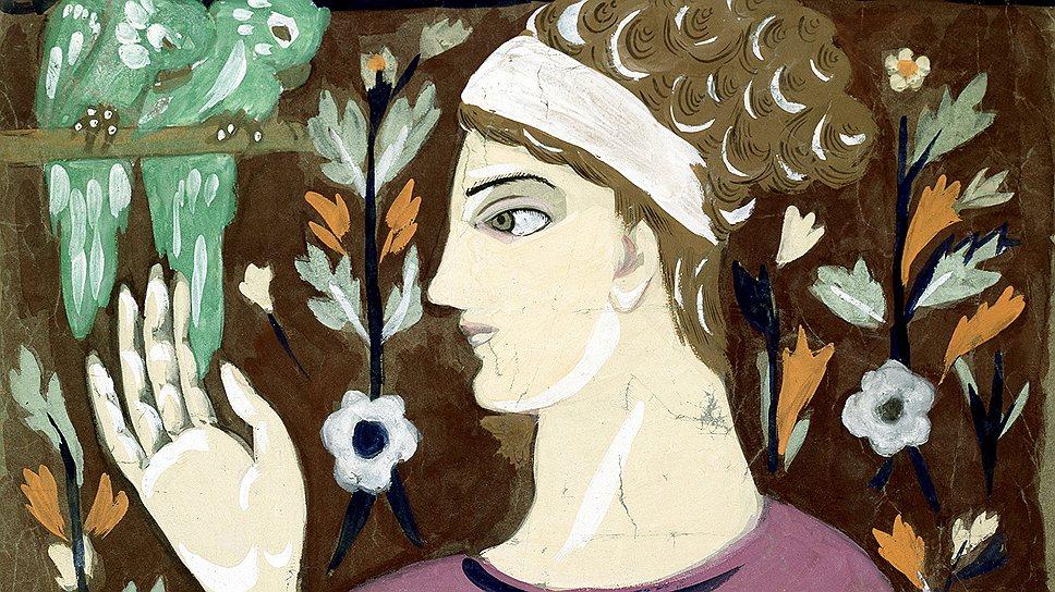 """""""Женщина с попугаями"""". Начало 1910-х годов"""