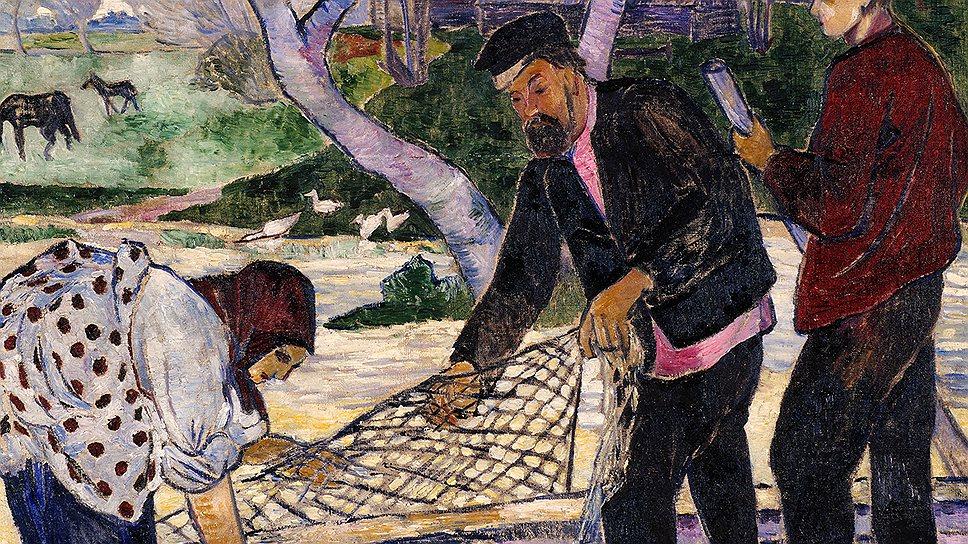 """""""Рыбная ловля"""". 1908 год"""