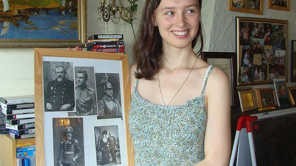Лара Кауте, внучка Ольги Соборницкой-Барковской