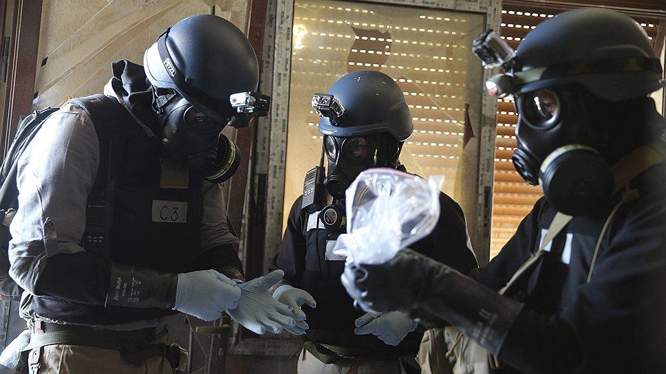 В марте и августе в Сирии было применено химическое оружие