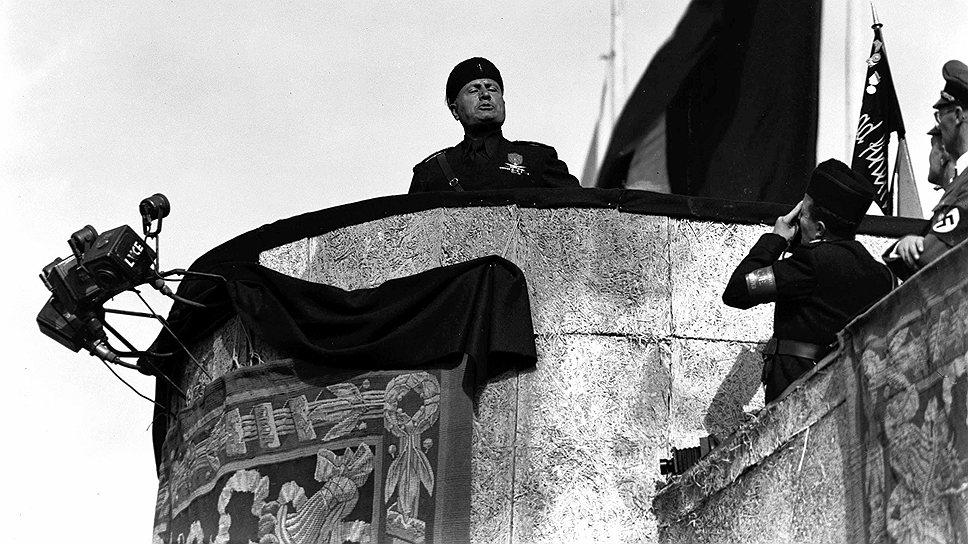 """Бенито Муссолини стал не просто популярным, но и респектабельно-интернациональным лицом фашистского бренда после того, как папа Пий XI назвал его """"человеком, данным нам Провидением"""""""