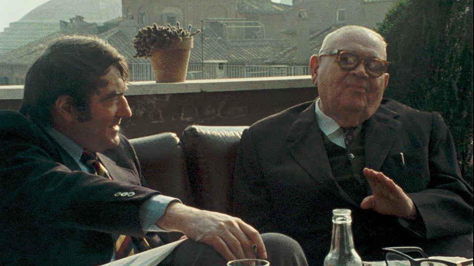 Клод Ланцман уговорил отверженного раввина Бенджамина Мурмельштайна рассказать о том, как евреи сотрудничали с нацистами