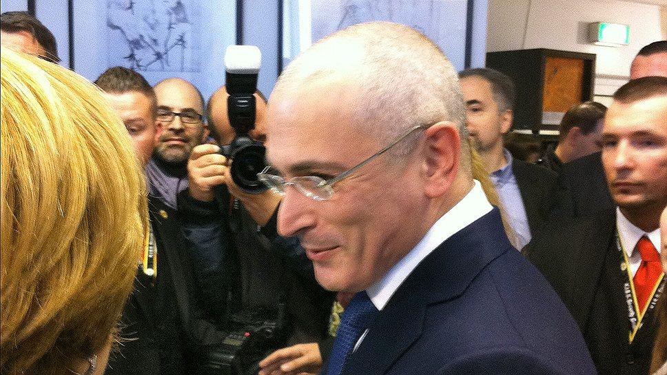 Михаил Ходорковский толкует свое помилование как средство борьбы с элитарной коррупцией