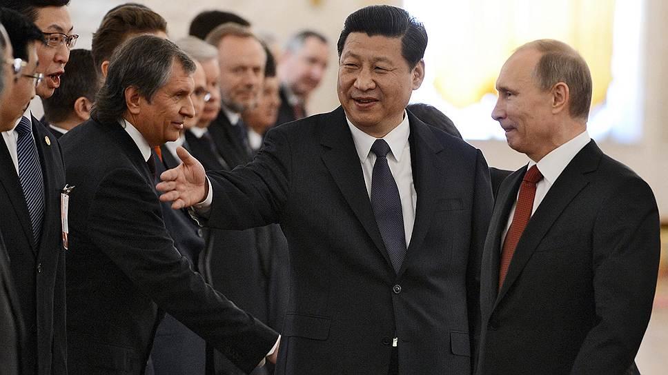 Председатель КНР Си Цзиньпин и китайские госкомпании готовы протянуть России руку помощи