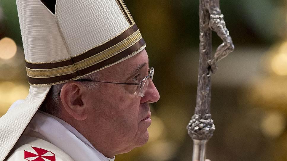 Папа Франциск подтвердил, что не приемлет не только классовой, но и межпланетной дискриминации