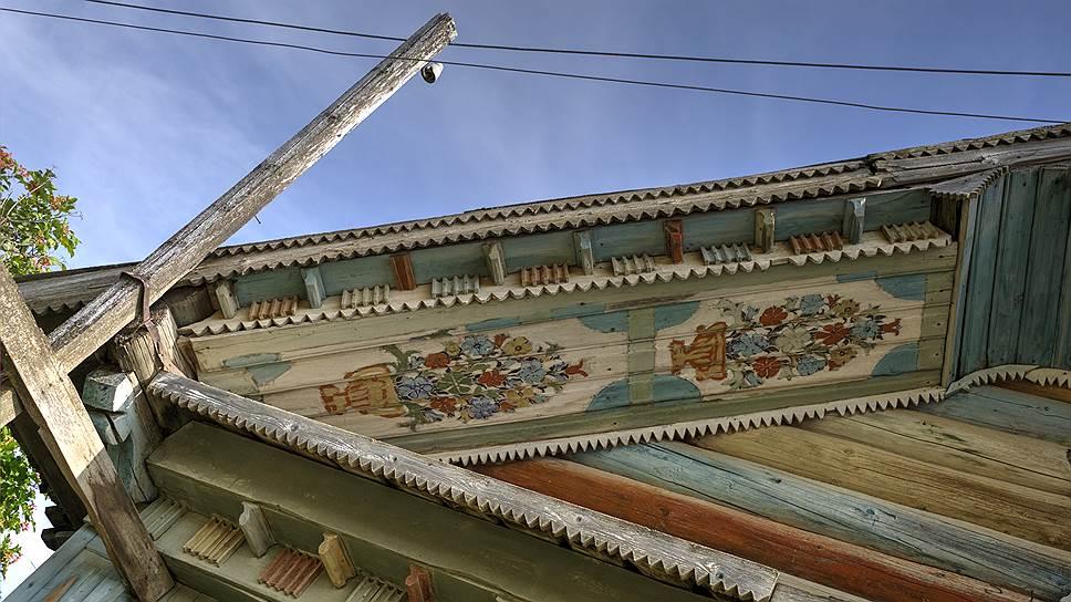 Типичный фасад каргопольского дома