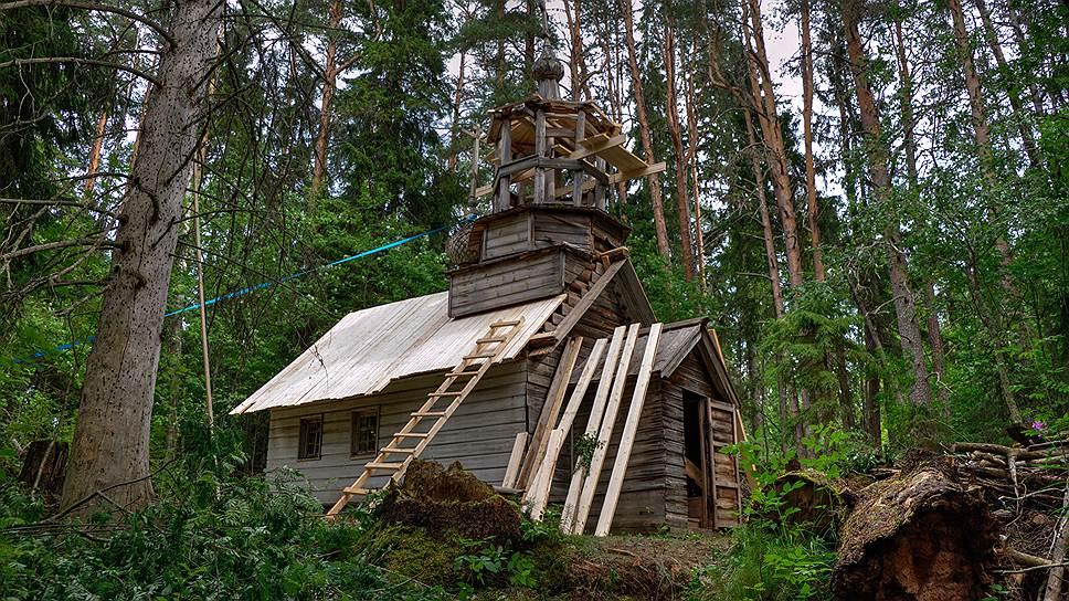 Кенозерский национальный парк. Реставрация храма