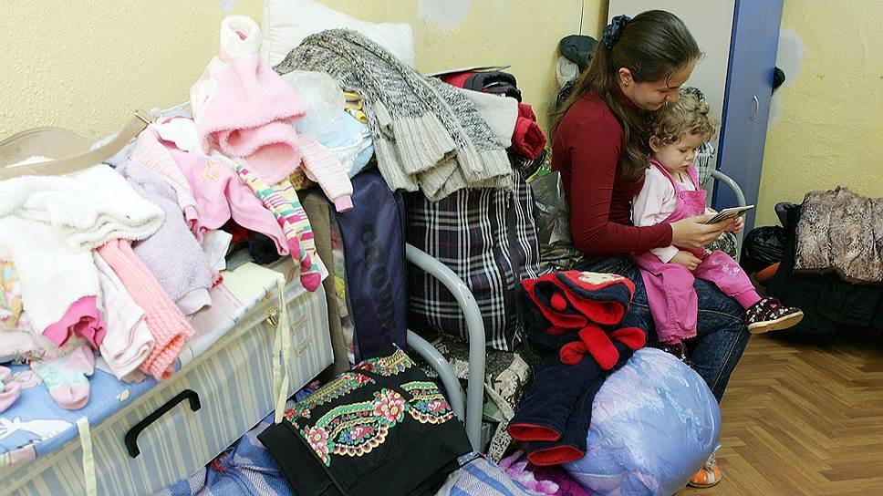 Переполненные общежития Хабаровского края, принявшие беженцев c Украины, власти называют пунктами временного размещения