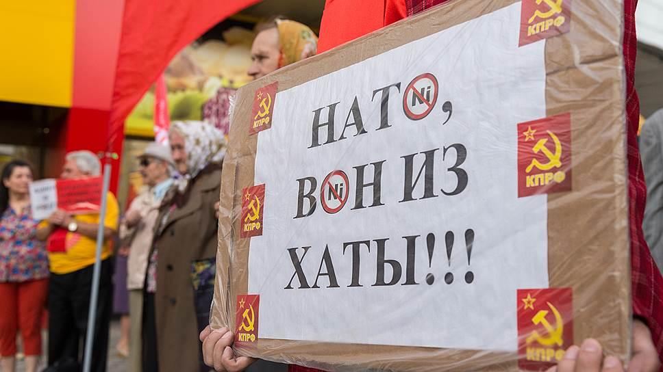 Многие граждане России опасаются появления сил НАТО на российско-украинской границе