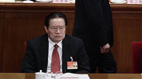 Пришли за тигром  / В Китае арестован Чжоу Юнкан — бывший постоянный член Политбюро, курировавший нефтяную отрасль и силовиков