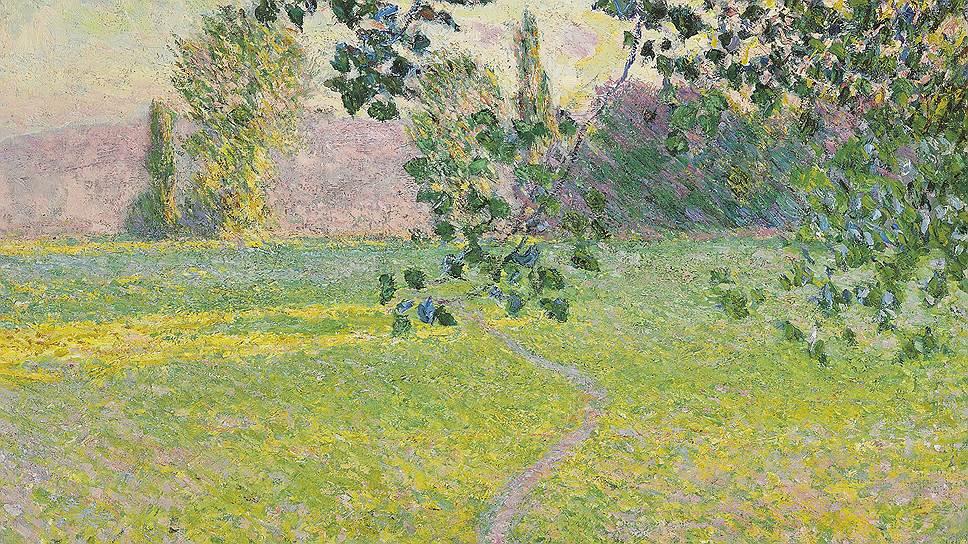 """""""Утренний пейзаж"""" (1888) Клода Моне из коллекции Джона Уайтхеда точно не останется без покупателя на предстоящих торгах Christie's"""