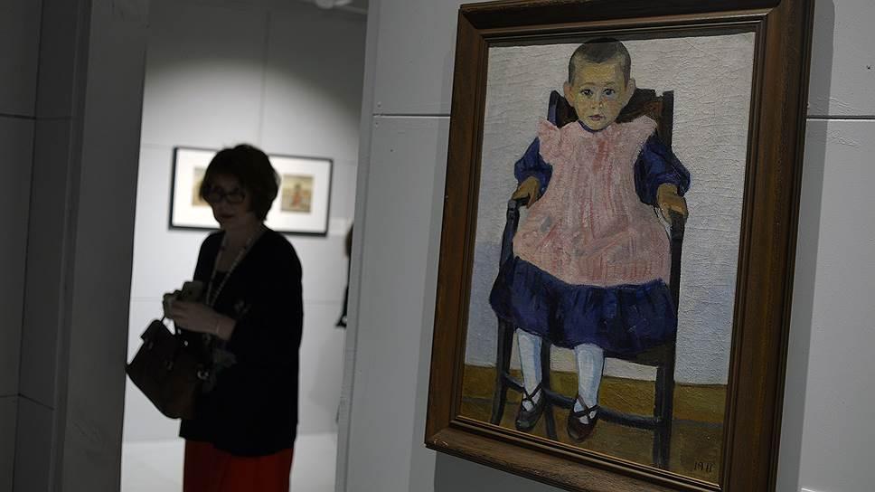 """На выставке авангарда в Еврейском музее не обошлось без """"Девочки в креслице"""" (1911) Роберта Фалька"""