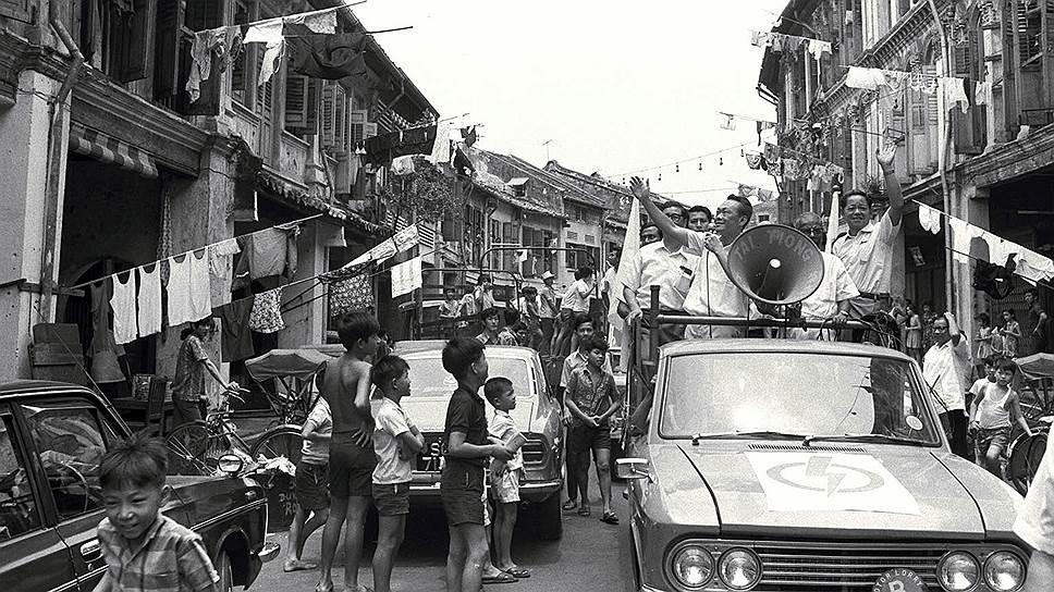 Придя к власти, Ли Куан Ю (на фото) стремился построить в Сингапуре космополитическое общество