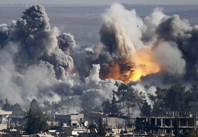 """""""Ударами возглавляемой США международной коалиции с воздуха тут ничего не сделаешь. Нужно посылать туда армию... Иначе невозможно положить конец этой фабрике по производству джихада"""""""