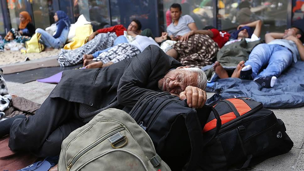 Проблема бездомных может захлестнуть «благополучную» Европу