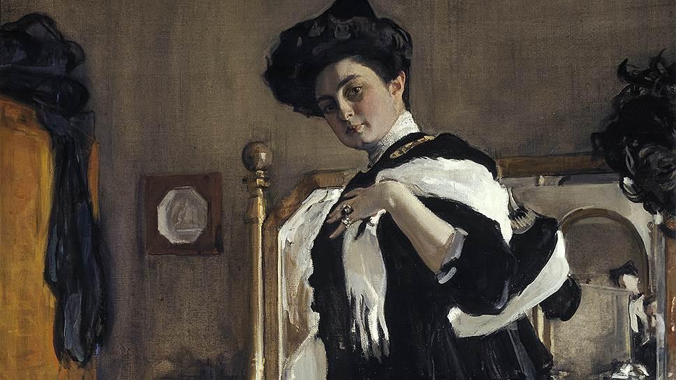 Портрет Генриетты Леопольдовны Гиршман (1907)