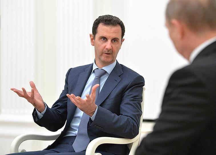 Президент Сирии Башар Асад прибыл с визитом в Москву на самолете Ил-62М Минобороны РФ