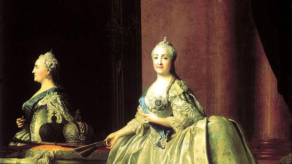Современники запомнили Екатерину II величественной, но милостивой и милосердной