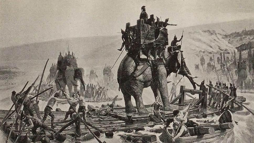 Со времен Ганнибала слоны были не только символом могущества, но и средством для улучшения транспортных путей