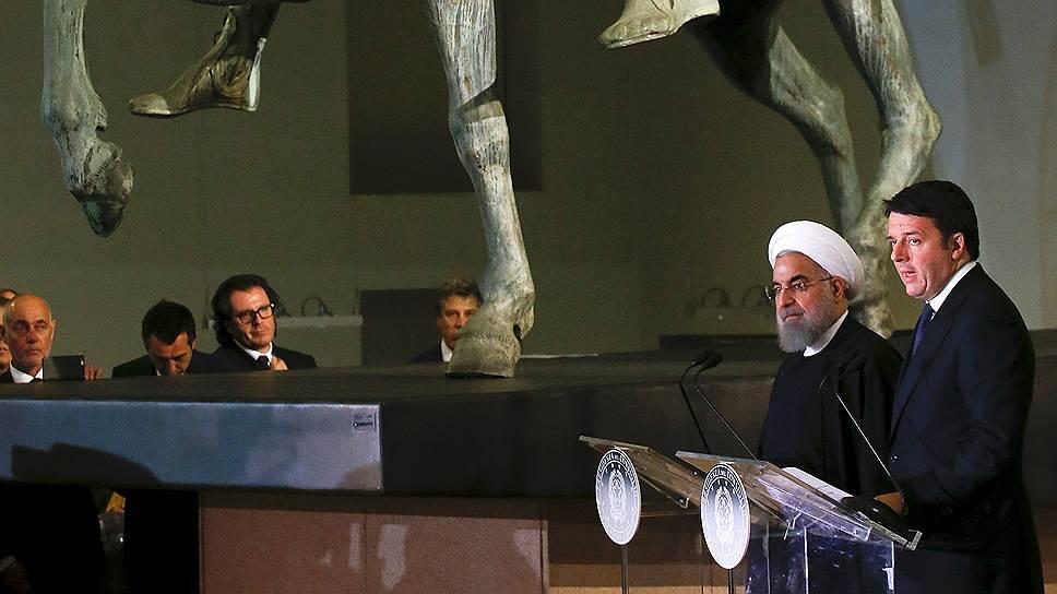Президенту Ирана оказали шахский прием