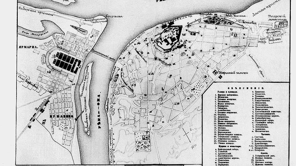 Расположение соляных амбаров (обведены на карте), позволяло ежегодно составлять акты о безвозвратной порче несуществующей соли вешней водой