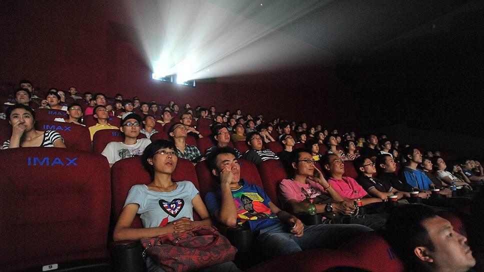 Китайская публика весь минувший год ударно ходила в кино