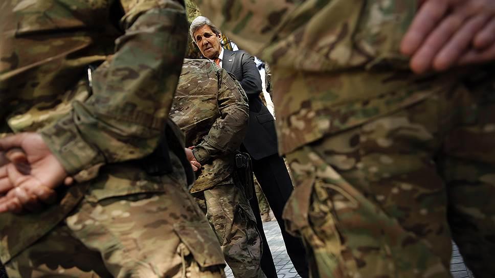 В поисках союзников для борьбы с ИГ госсекретарь США Джон Керри дошел до Афганистана