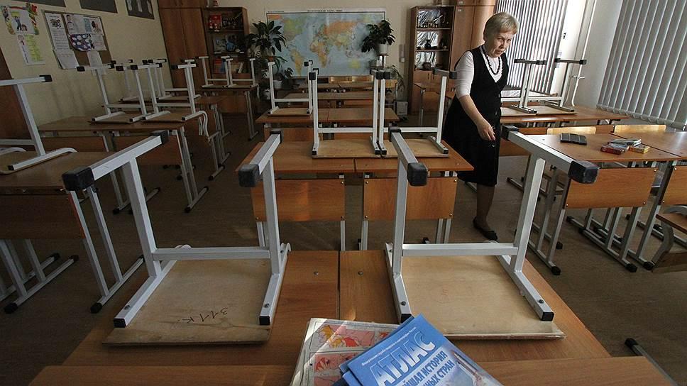 Согласно опросам, подавляющее большинство учителей не готовы мириться с сокращением зарплаты