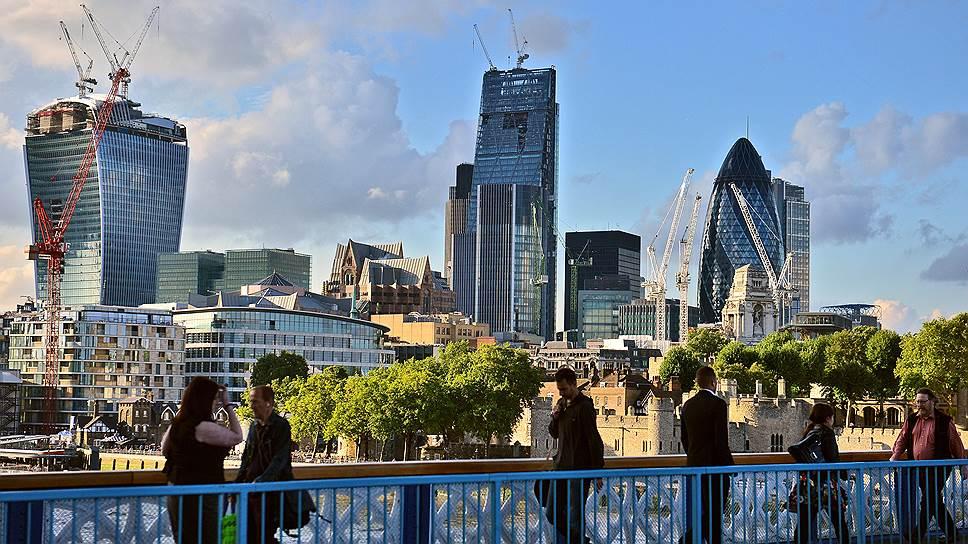 Brexit может помешать богатым русским управлять своими деньгами в лондонском Сити (на фото) и продолжать покупать недвижимость в престижном районе Belgravia