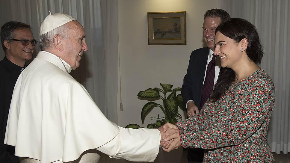 Палома Гарсия Овехеро станет первой женщиной--заместителем руководителя ватиканской пресс-службы