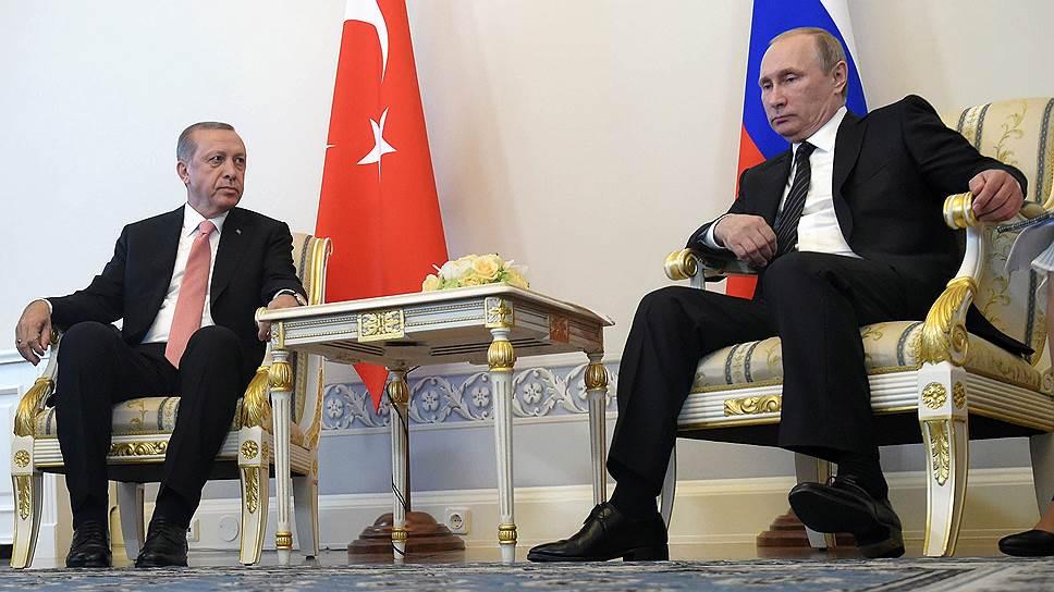 Как прошла встреча президентов России и Турции