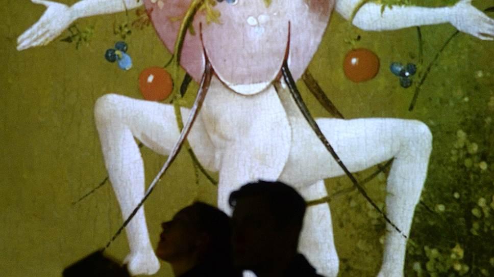 """На выставке фрагмент """"Сада земных наслаждений"""" пока не вызывает такого же возмущения, как на плакате"""