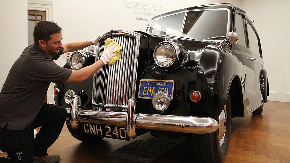 За 45 лет цена автомобиля Джона Леннона существенно выросла