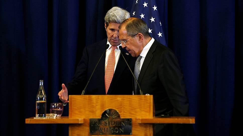 Договоренности Сергея Лаврова и Джона Керри в результате не привели ни к прекращению огня, ни к объединению усилий России и международной коалиции в Сирии