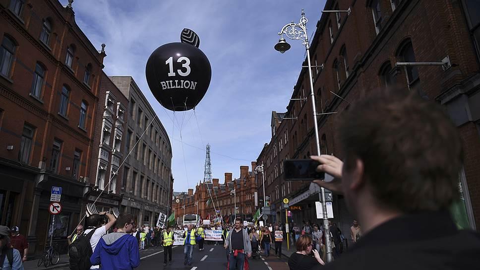 Вопреки мнению ирландских властей и США, жители Дублина горячо приветствуют решение Еврокомиссии о взыскании налога с компании Apple