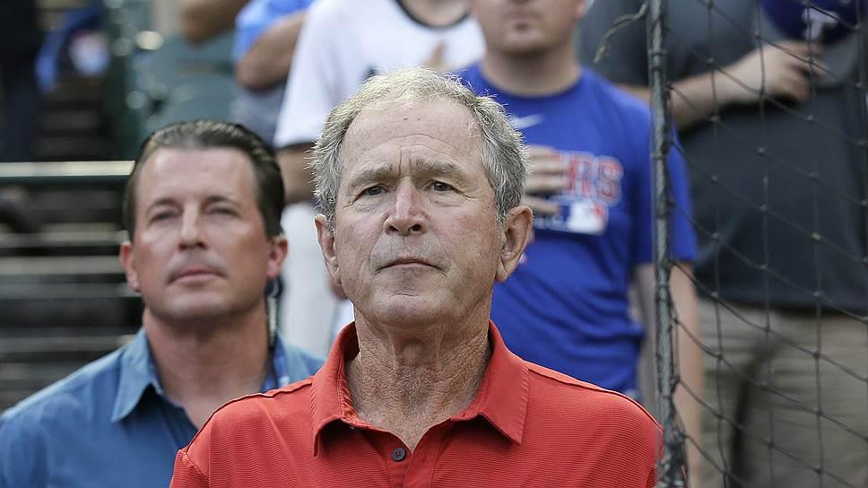 В вопросе недопущения Трампа в президенты Джордж Буш-младший солидарен со своим с отцом