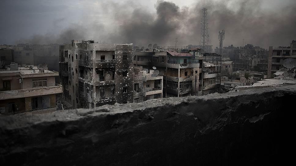 Алеппо — некогда второй по величине город Сирии — уже несколько лет находится в зоне боевых действий
