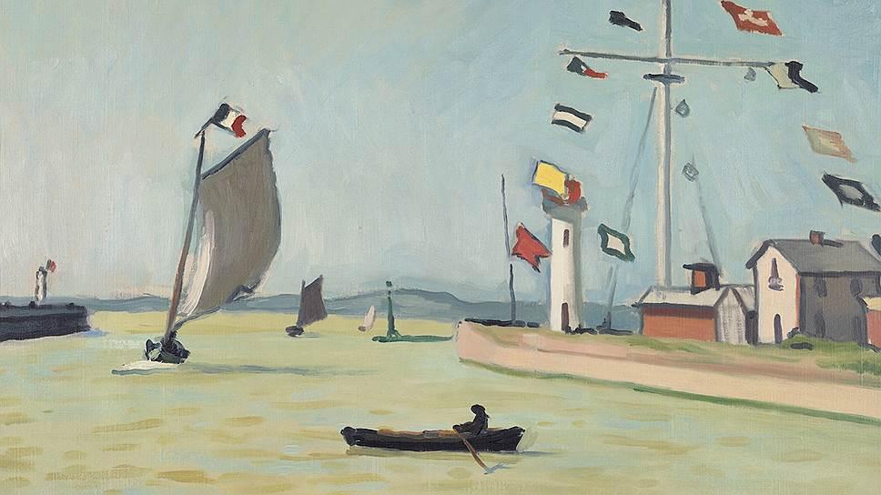 """""""Порт в Онфлере"""". 1911"""