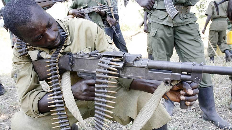"""По данным ООН, боевики """"Объединенных демократических сил — Национальной армии освобождения Уганды"""" (на фото) за последние два года убили около тысячи мирных жителей конголезской провинции Северное Киву"""