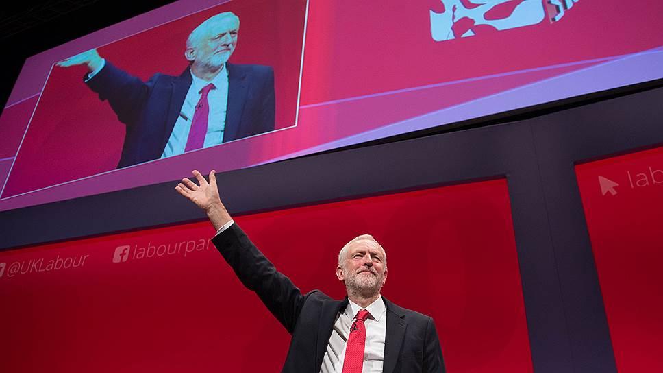 Джереми Корбин призвал Лейбористскую партию вернуться к своим корням