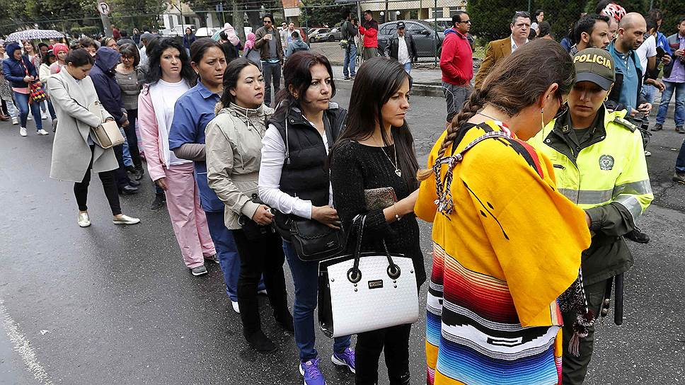 Жители Колумбии хотят мира с повстанцами, но не на тех условиях, о которых договорилось правительство