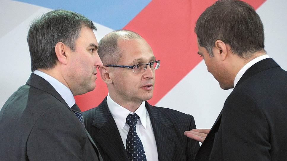 Вячеслав Володин и Владислав Сурков могли бы много рассказать Сергею Кириенко о том, как надо управляться с вопросами внутренней политики