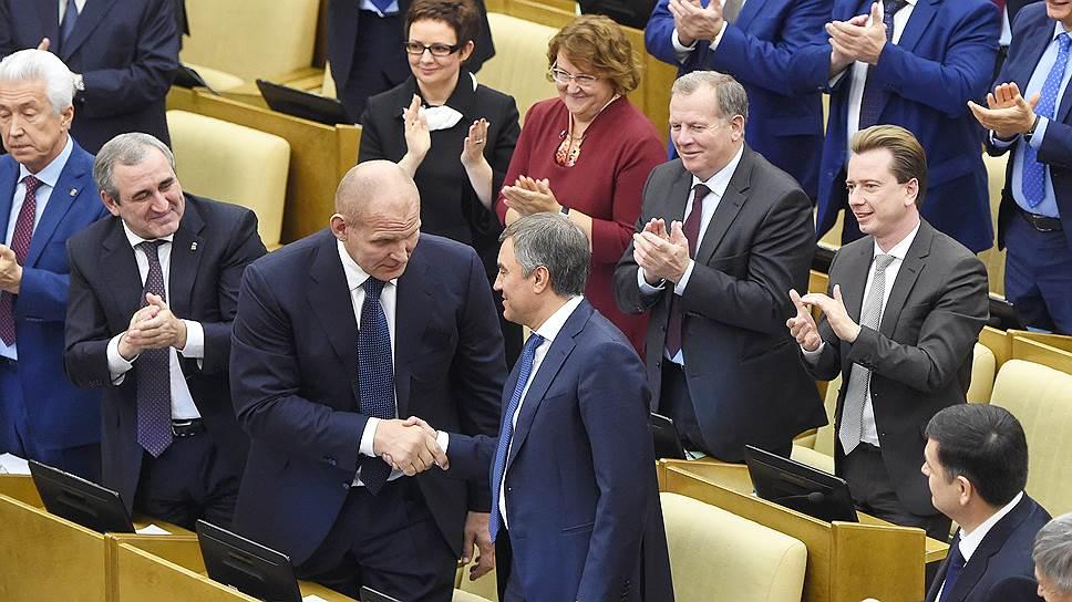 Госдуму седьмого созыва Вячеслав Володин не только выбирал, но и отбирал