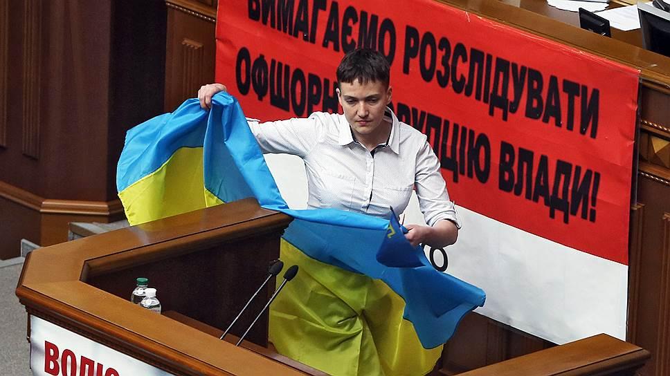 Законодательная инициатива Надежды Савченко, по мнению главы национальной полиции Украины, вызвала рост преступности в стране