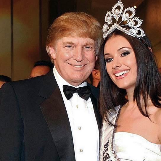 """С """"Мисс Вселенная-2002"""" Оксаной Федоровой. Сан-Хуан, 2002 год"""