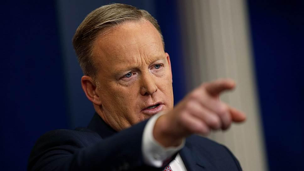 Перед Шоном Спайсером стоит задача наладить непростые отношения президента с прессой